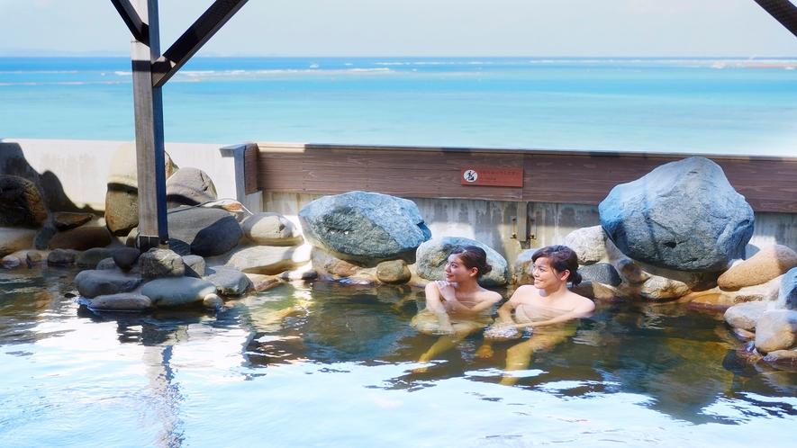 龍神の湯 岩風呂 1