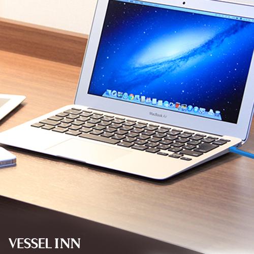 全室Wi-Fi + LAN無料接続