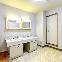 *[和室20畳]洗面台は2台設置しております。