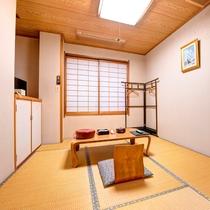 *[和室6畳]ビジネスや一人旅におすすめのコンパクトなお部屋。