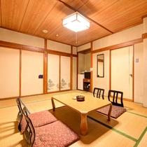 *[和室10畳]大浴場に近い1階、又はエレベーターに近い2階のお部屋。