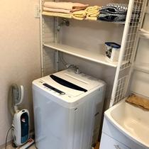 【コテージ】洗面室