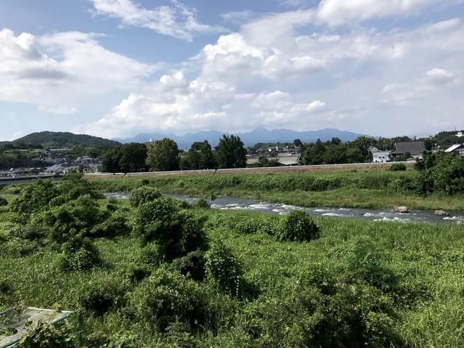 貸別荘 眺め(風呂場から)