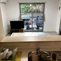 【コテージ】キッチン・リビングルーム