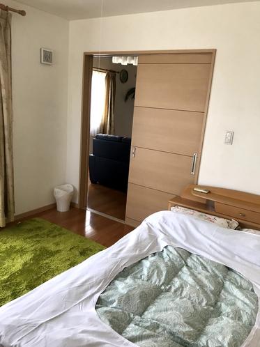 貸別荘 寝室