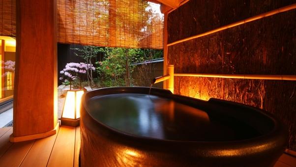 庭の棟 露天風呂付客室