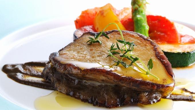 【秋冬旅セール】《RiccaWメインコース》但馬牛熟成肉&天然黒鮑ロースト【レストランRicca】