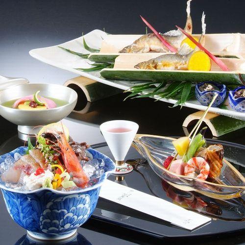 【夏】季節の会席料理