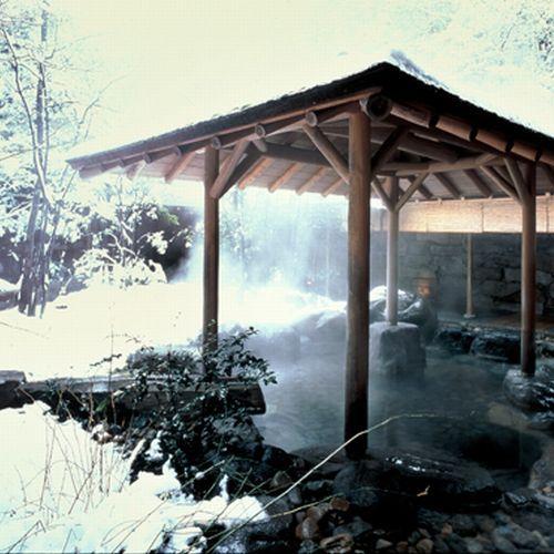雪が降れば雪見露天もお楽しみいただけます