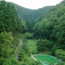 五万坪の森林庭園を望む温泉リゾート