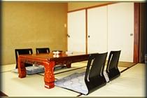 純和風の客室