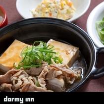 ご当地メニュー肉豆腐(イメージ)