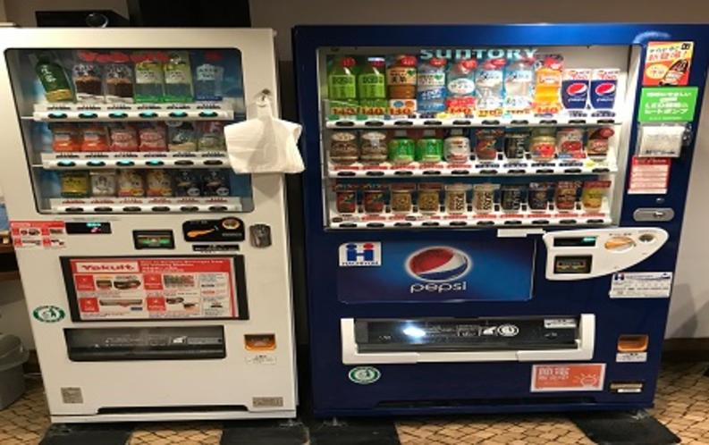 【館内設備】自動販売機