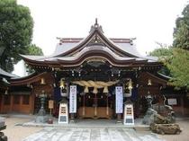 【櫛田神社】