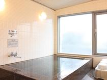【ホテル4階・サウナ付き浴場】
