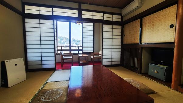 平泉の歴史に触れる♪和室8畳/バス・トイレ付