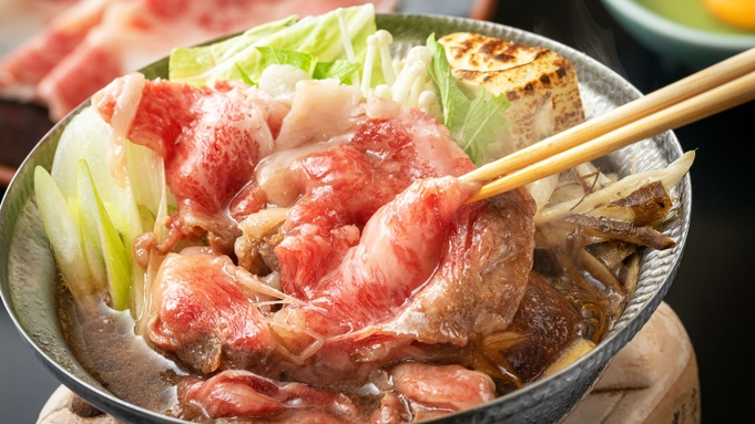 ■極上 -指宿牛会席-■<地元ブランド牛のすき焼き>を味わう、贅沢美食のグレードアップ!