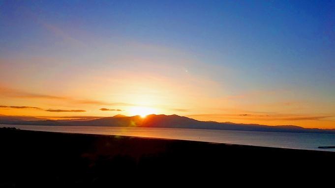 ■年末年始限定プラン■砂蒸し温泉付き★薩摩の山海の幸と絶景を堪能する!≪オーシャンビュー×ご来光≫