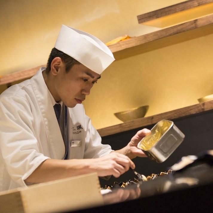 日本料理「十二颯」寿司職人