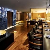 日本料理「十二颯」寿司カウンター