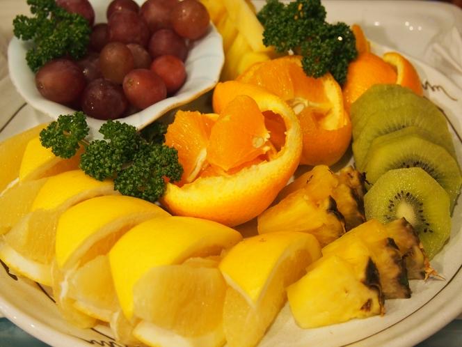 フルーツ盛合せ(朝食)