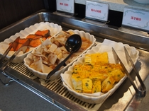 お惣菜(朝食)