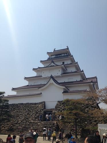福島観光名所 会津鶴ヶ城