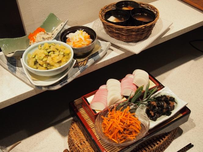 正月料理(朝食)
