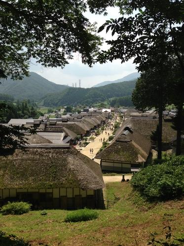 福島観光名所 大内宿