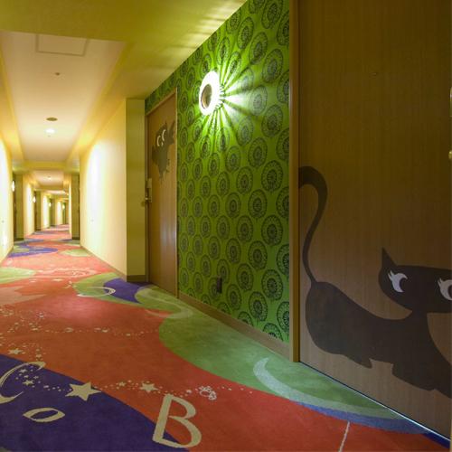 【ハッピーマジック】 客室廊下