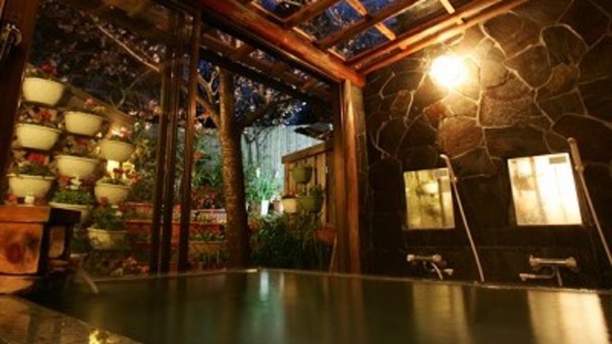 貸切温泉【花の湯】(夜)