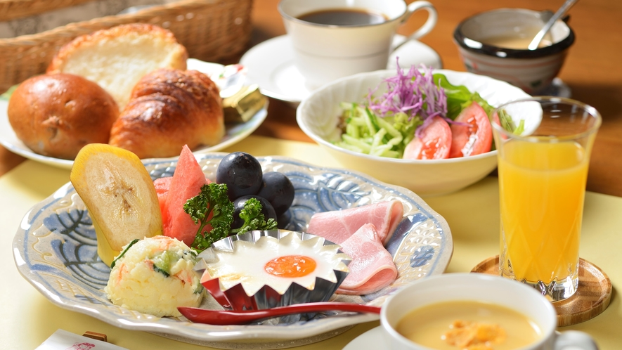 ある日の朝食一例
