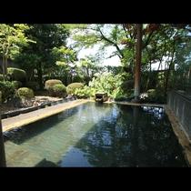 ◆【庭園露天風呂-檜風呂-】