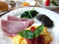 B&Bプランの朝食