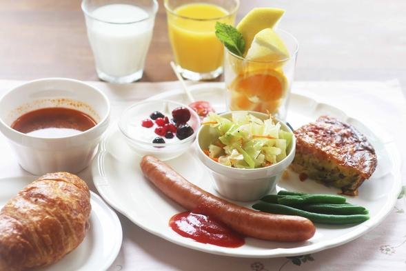 焼立クロワッサン&BEさんちの朝食+貸切風呂無料<1泊朝食付>
