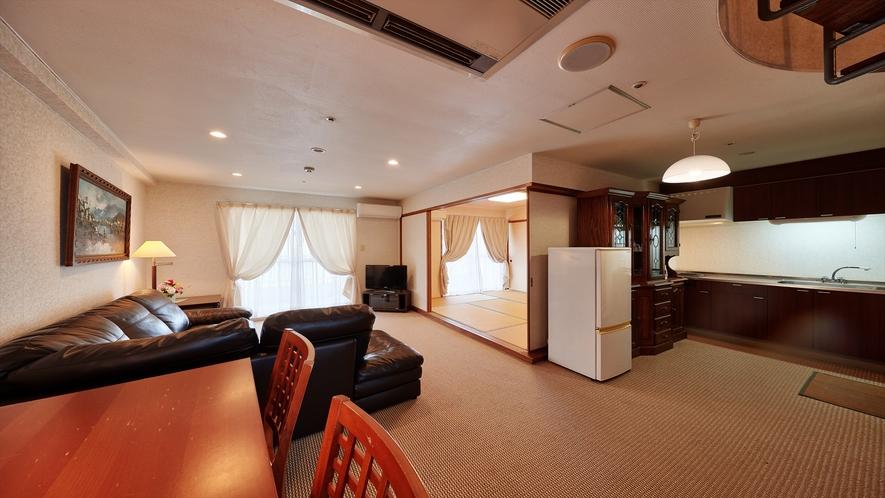 【お部屋】1室限定のロイヤルルーム!最大5名様までご利用頂けます。