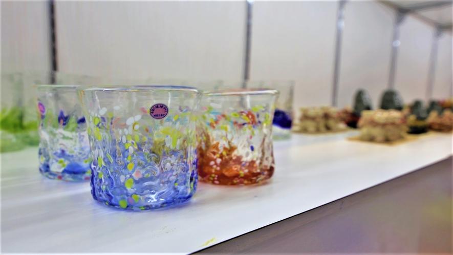 【売店】琉球ガラスのお土産はいかがですか