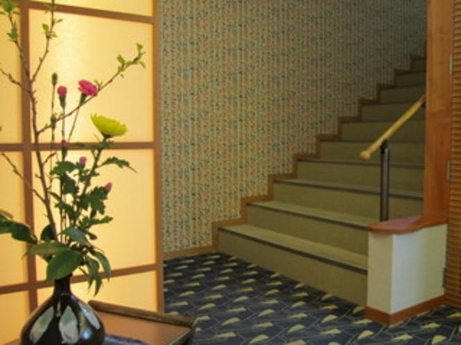 【旧館・玄水亭】階段付近
