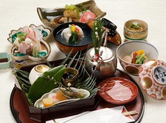 【提携記念プラン】いいとこ見つけました!京料理かじ「花コース」(9000円相当)タクシー送迎付プラン