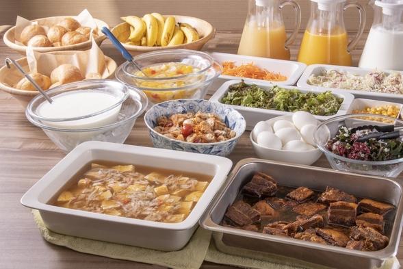 【朝食ビュッフェ再開記念】朝食無料!素泊まり料金でビュッフェが利用できるプラン♪