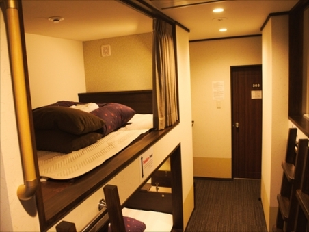 Double bed in Mixed Dormitory