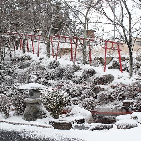 *【孫八神社】雪景色