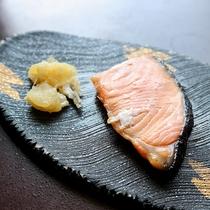 *【朝食一例】焼き魚で朝から栄養満点。