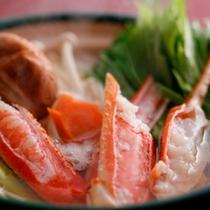 カニすき鍋例