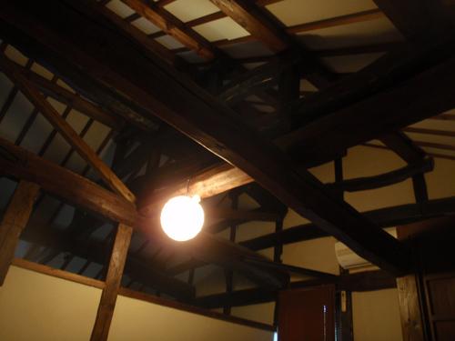 古民家:室内の張り(2)