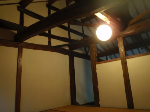 古民家:室内の張り(1)