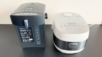 【電気ポット・炊飯器】全室設置