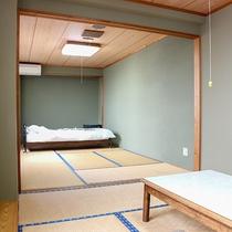 *【和室15畳】ファミリー・グループにオススメ!2間続きの広々としたお部屋です。