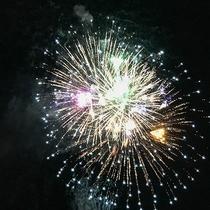 #【人吉花火大会】屋上から花火を眺めることができます!