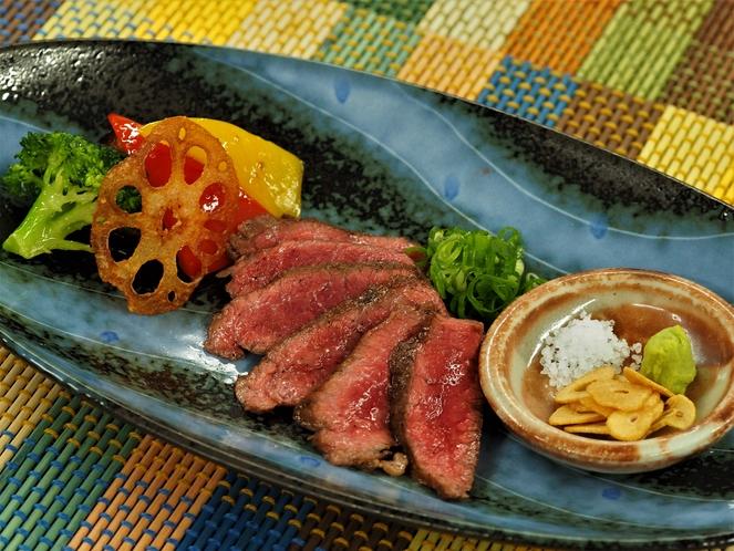 オリーブ牛のステーキ ※イメージです